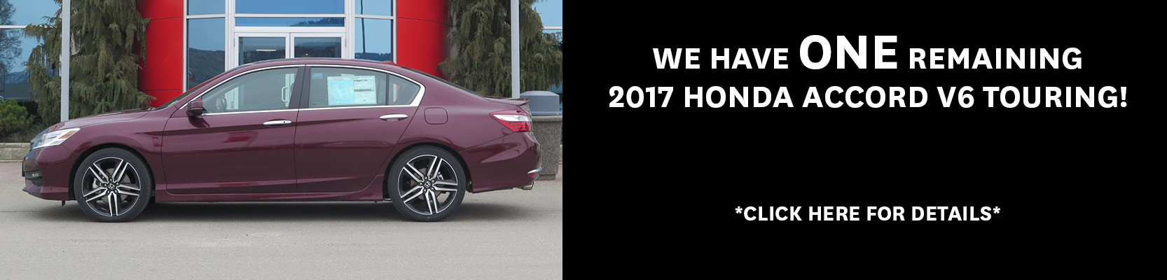 2017 Honda Accord V6 Touring